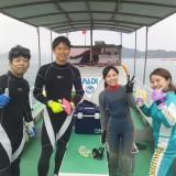 ファン&体験ダイビング~!