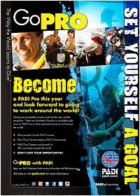 Become a PADI PRO A2