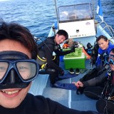 県外よりファン&合同体験ダイビング~(^^♪3ダイブ!