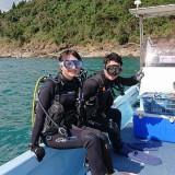 体験ダイビング&ライセンスコースへGO~(^^♪