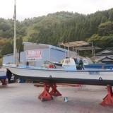 船のペンキ塗り&ベース整備&ゲストさん✨